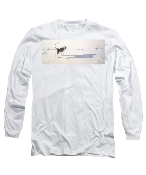 My Dog Long Sleeve T-Shirt by Yoshiko Mishina