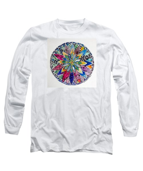 Spring Mandala Long Sleeve T-Shirt