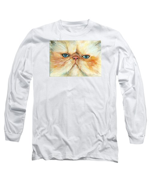 My Happy Face Long Sleeve T-Shirt by Donna Tucker