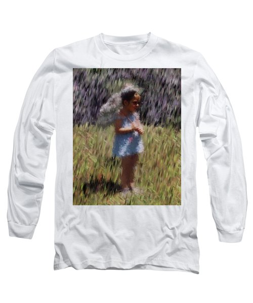 My Lee Long Sleeve T-Shirt by Vickie G Buccini