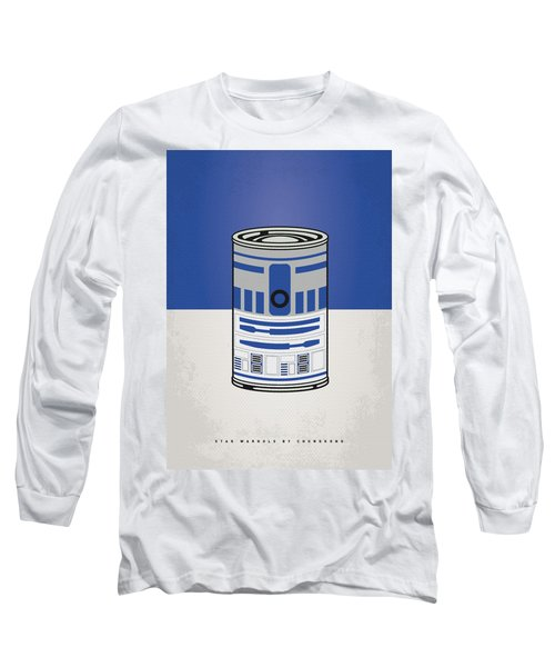 My Star Warhols R2d2 Minimal Can Poster Long Sleeve T-Shirt