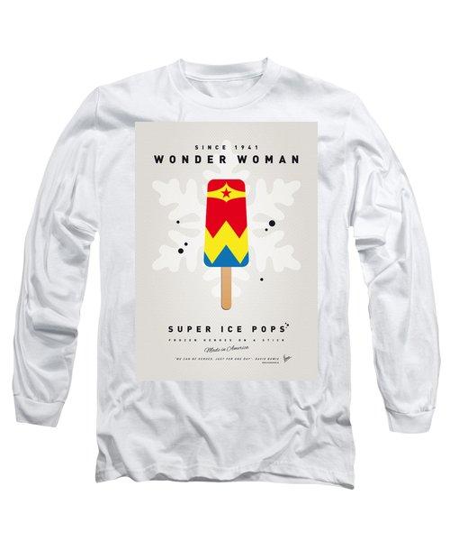 My Superhero Ice Pop - Wonder Woman Long Sleeve T-Shirt