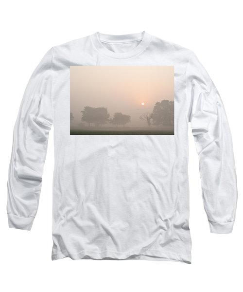 Mystic Landscape Long Sleeve T-Shirt by Lana Enderle