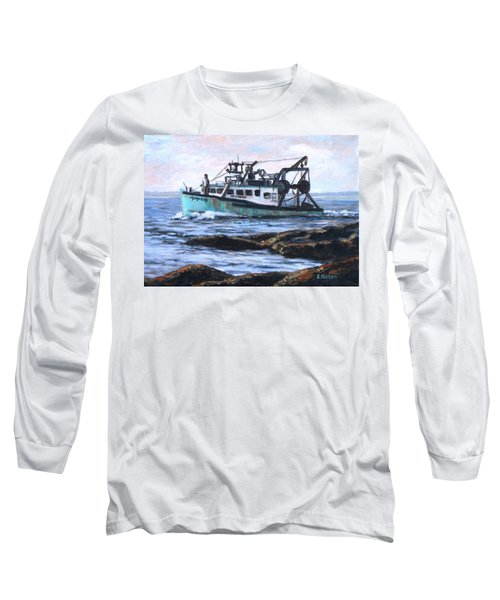 Mystique Lady Long Sleeve T-Shirt by Eileen Patten Oliver