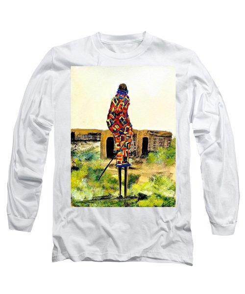N 27 Long Sleeve T-Shirt