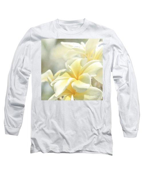 Na Lei Pua Melia Aloha E Ko Lele Long Sleeve T-Shirt
