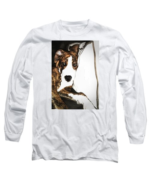 Long Sleeve T-Shirt featuring the photograph Nap Time by Robert McCubbin