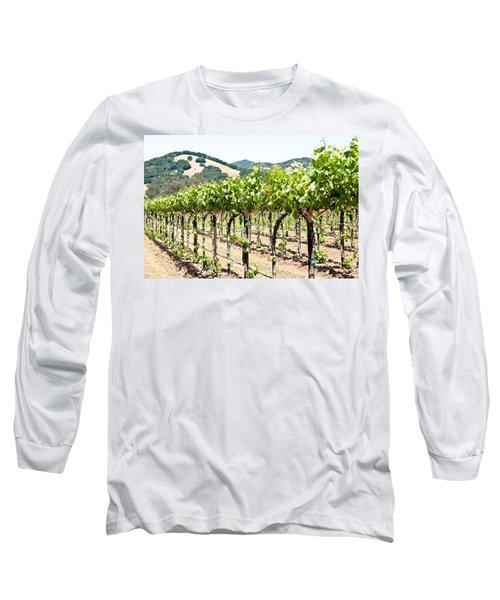 Napa Vineyard Grapes Long Sleeve T-Shirt