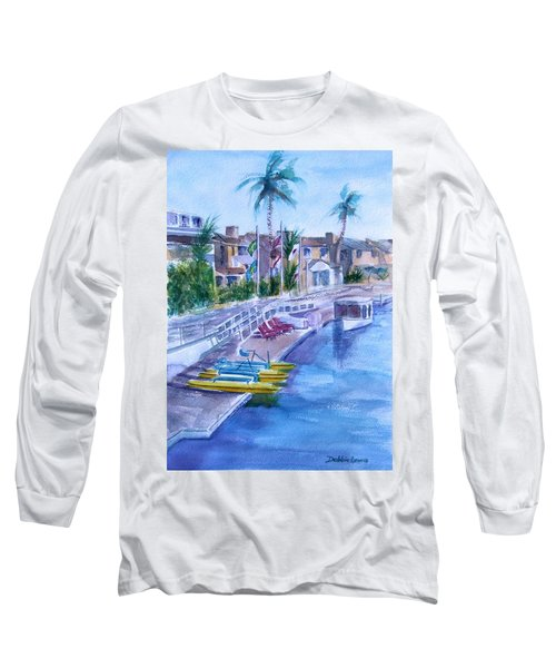 Naples Fun Long Sleeve T-Shirt by Debbie Lewis