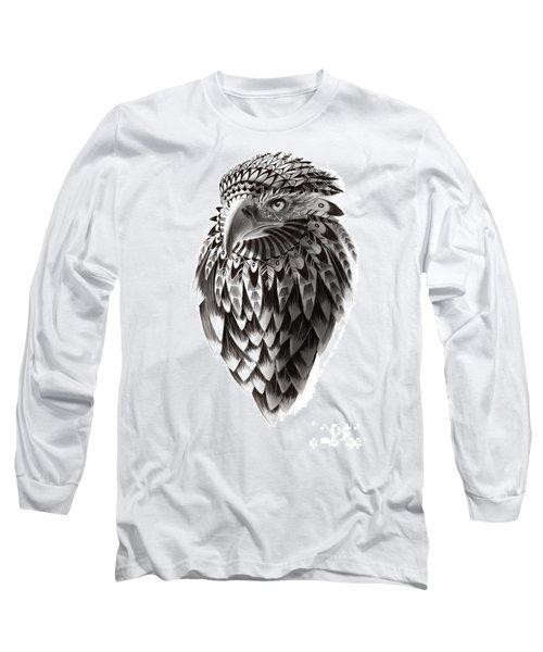 Native American Shaman Eagle Long Sleeve T-Shirt