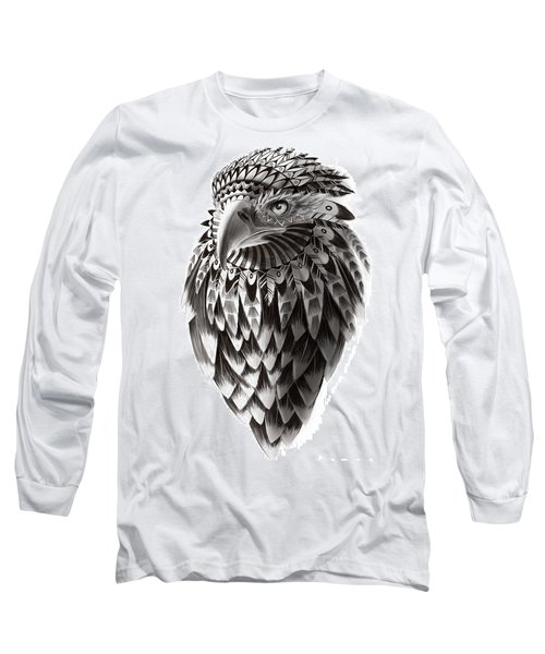 Native American Shaman Eagle Long Sleeve T-Shirt