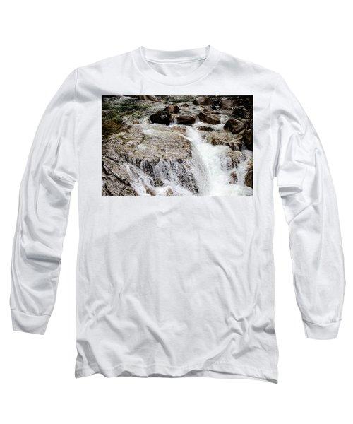 Backroad Waterfall Long Sleeve T-Shirt