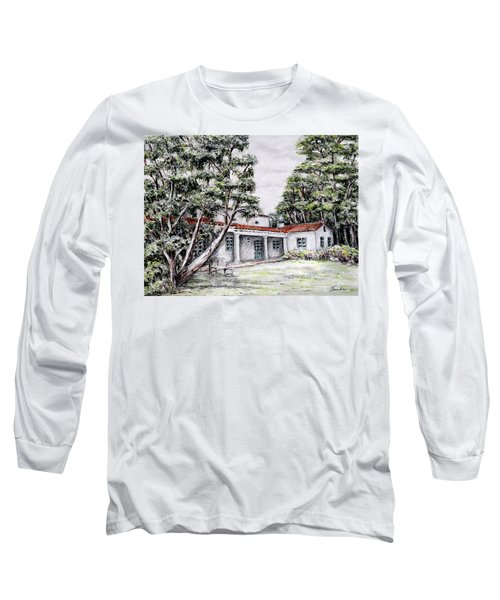 Nature And Architecture Long Sleeve T-Shirt by Danuta Bennett