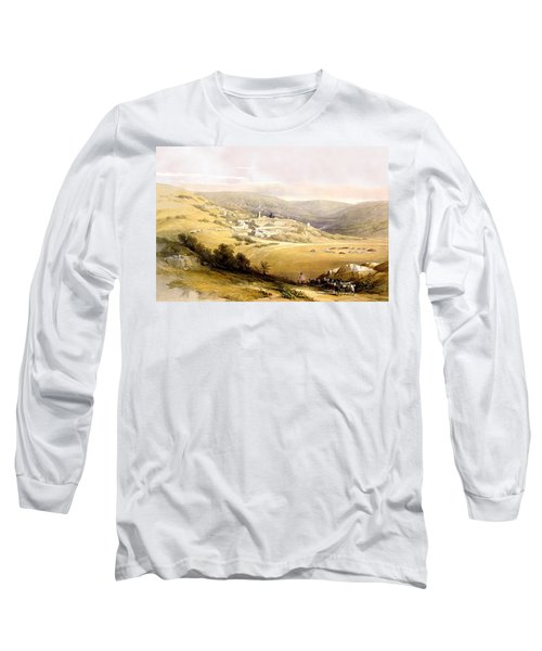 Nazareth Long Sleeve T-Shirt by Munir Alawi