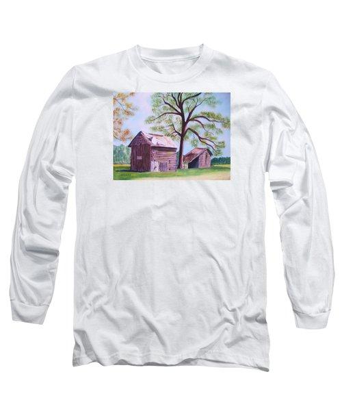 Nc Tobacco Barns Long Sleeve T-Shirt