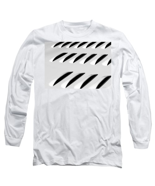 Need To Vent - Abstract Long Sleeve T-Shirt by Steven Milner
