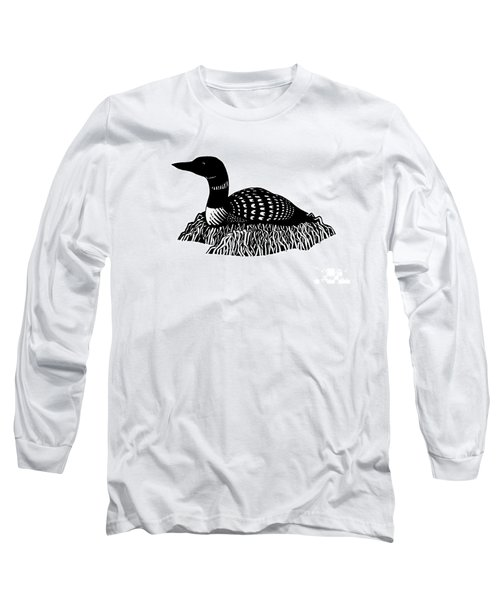 Nesting Loon Long Sleeve T-Shirt