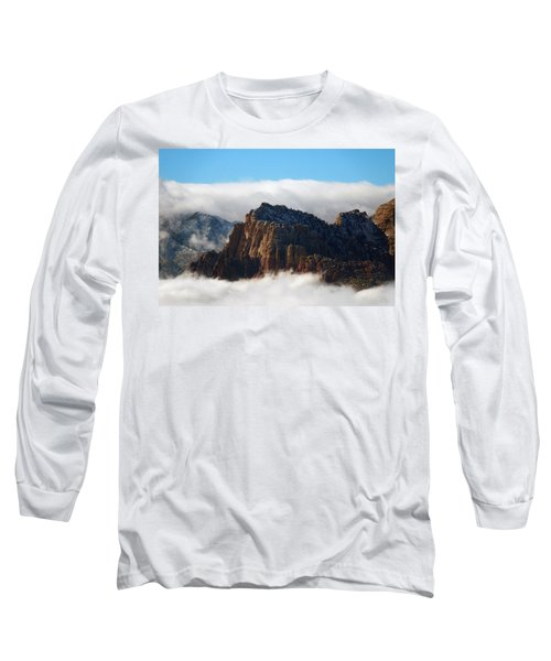 Nestled In The Clouds Long Sleeve T-Shirt