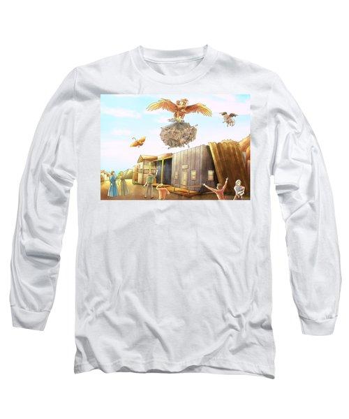 Netting The Bad Guys Long Sleeve T-Shirt