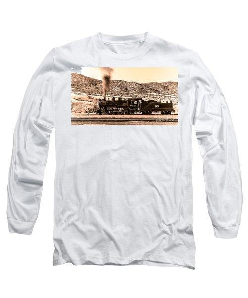 Nevada Northern Railway Long Sleeve T-Shirt by Robert Bales