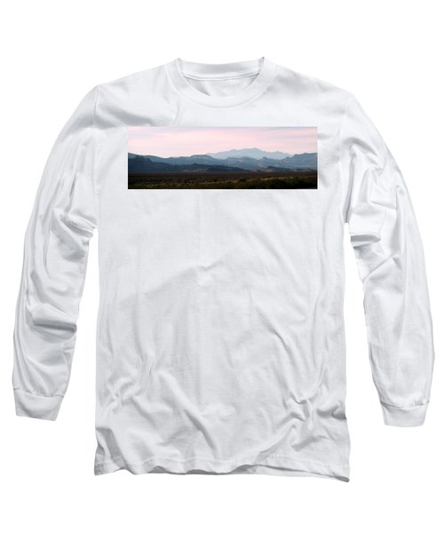 Nevada Sunset Long Sleeve T-Shirt