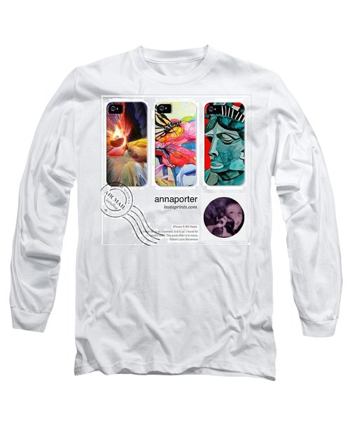 New Abstract Art Iphone 5-5s Cases Long Sleeve T-Shirt
