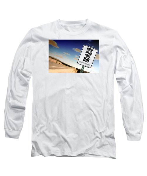 New Limits  Long Sleeve T-Shirt by David Jackson