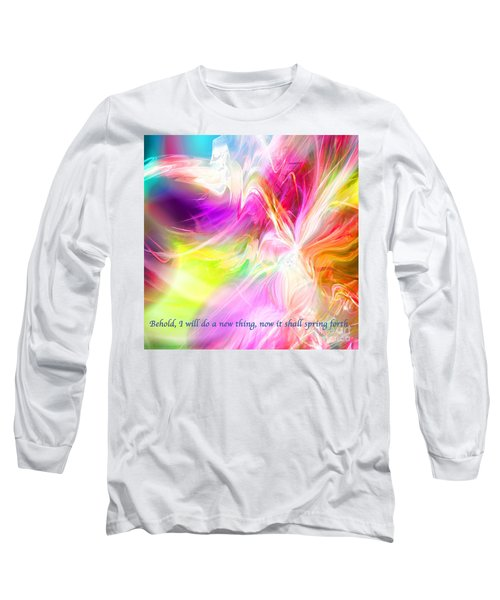New Thing Long Sleeve T-Shirt by Margie Chapman