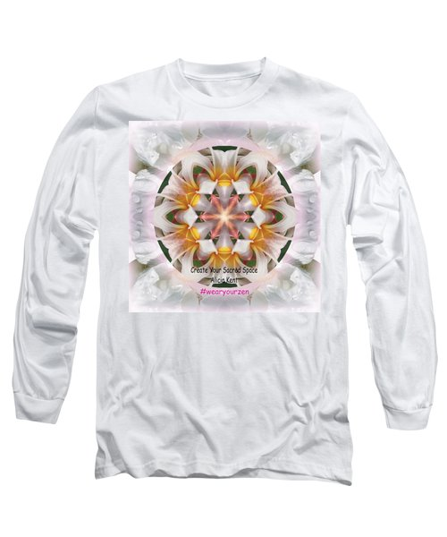 The Heart Knows Custom Long Sleeve T-Shirt