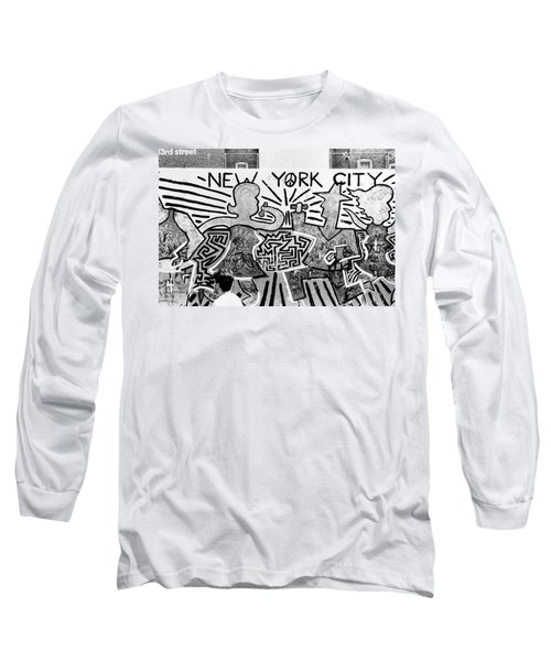 New York City Graffiti Long Sleeve T-Shirt