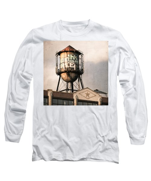 New York. Water Towers 6 Long Sleeve T-Shirt
