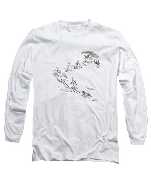 New Yorker April 11th, 1942 Long Sleeve T-Shirt