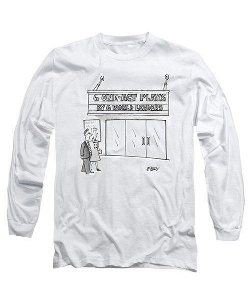 New Yorker April 16th, 1990 Long Sleeve T-Shirt