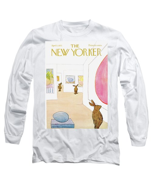 New Yorker April 1st, 1972 Long Sleeve T-Shirt
