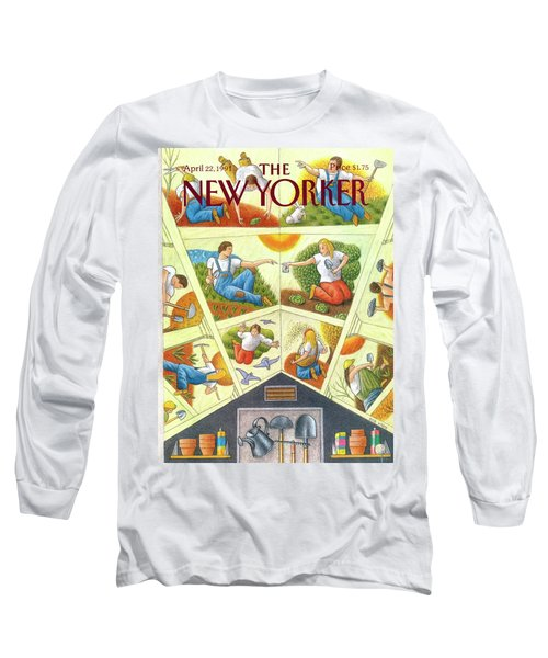 New Yorker April 22nd, 1991 Long Sleeve T-Shirt
