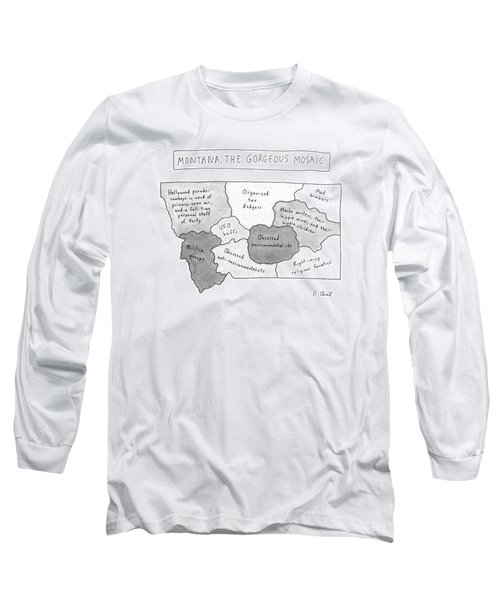 New Yorker April 22nd, 1996 Long Sleeve T-Shirt