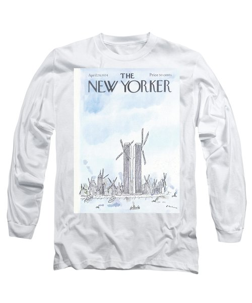 New Yorker April 29th, 1974 Long Sleeve T-Shirt