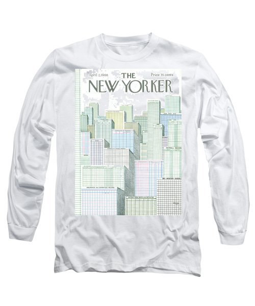 New Yorker April 2nd, 1966 Long Sleeve T-Shirt