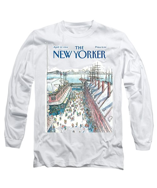 New Yorker April 30th, 1984 Long Sleeve T-Shirt