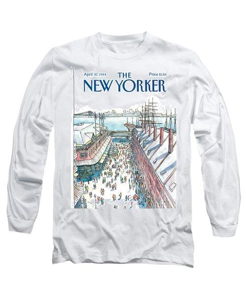 New Yorker April 30th, 1984 Long Sleeve T-Shirt