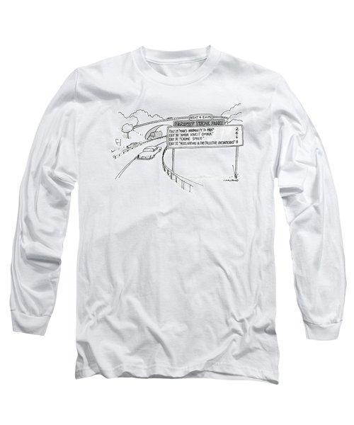 New Yorker April 30th, 1990 Long Sleeve T-Shirt