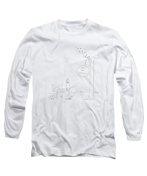 New Yorker April 3rd, 2017 Long Sleeve T-Shirt