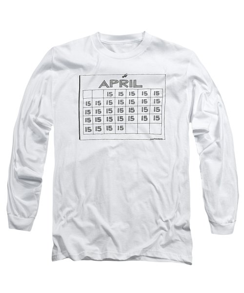 New Yorker April 7th, 1986 Long Sleeve T-Shirt