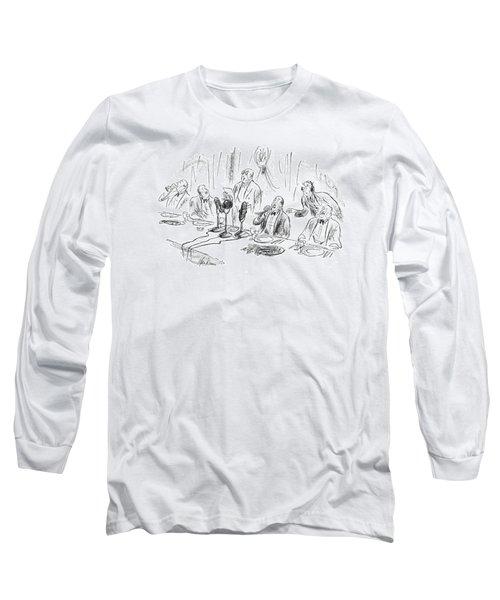 New Yorker April 8th, 1950 Long Sleeve T-Shirt