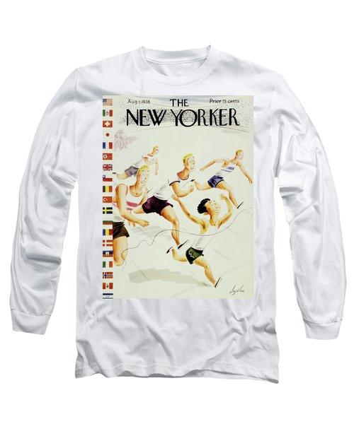 New Yorker August 1 1936 Long Sleeve T-Shirt