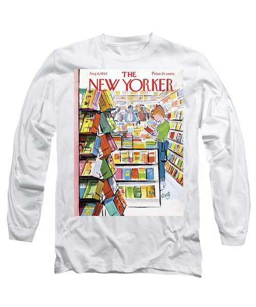 New Yorker August 11th, 1962 Long Sleeve T-Shirt