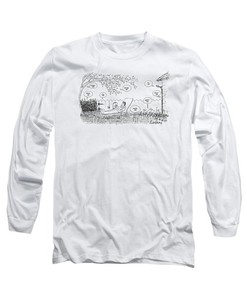 New Yorker August 12th, 1974 Long Sleeve T-Shirt