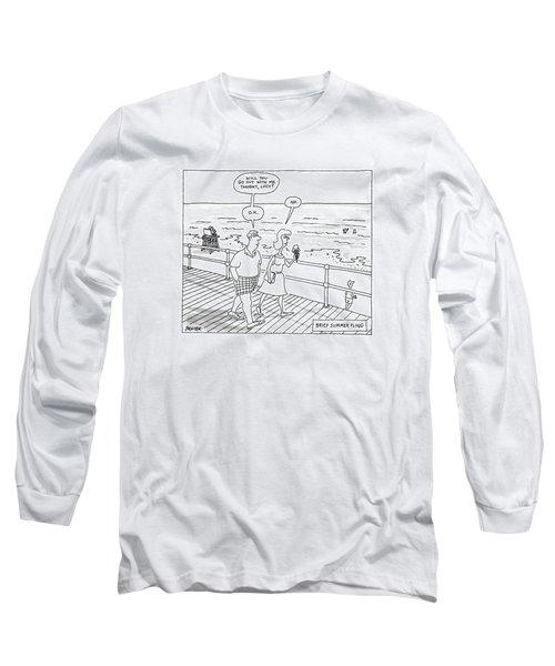 New Yorker August 1st, 1988 Long Sleeve T-Shirt