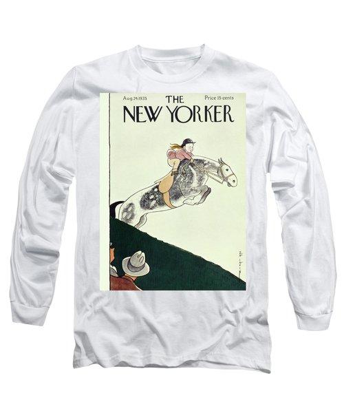 New Yorker August 24 1935 Long Sleeve T-Shirt
