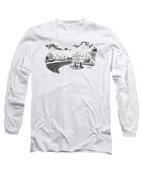 New Yorker August 24th, 1992 Long Sleeve T-Shirt